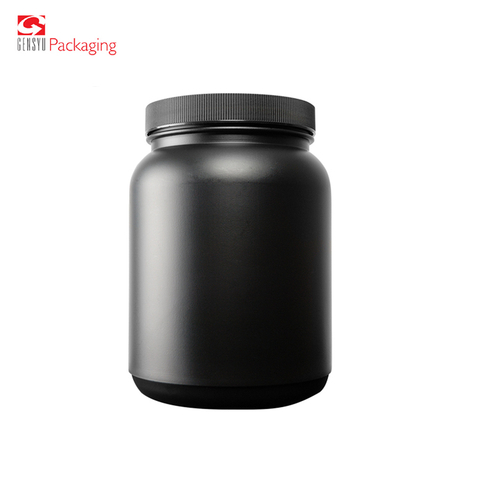 500Ml Hdpe Plastic Food Grade Nutrition Powder Container Bottle Tubs