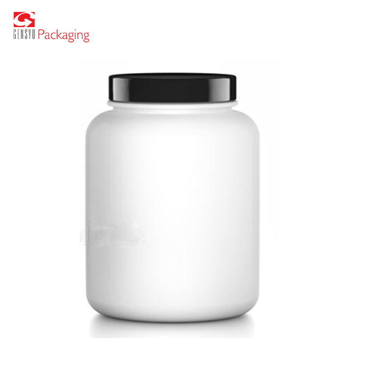 Premium Plastic Tub With Screw Lid Protein Packaging