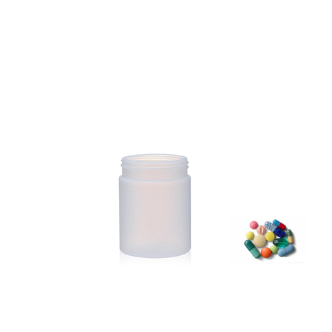 Pearl Color HDPE Plain Canister for Food