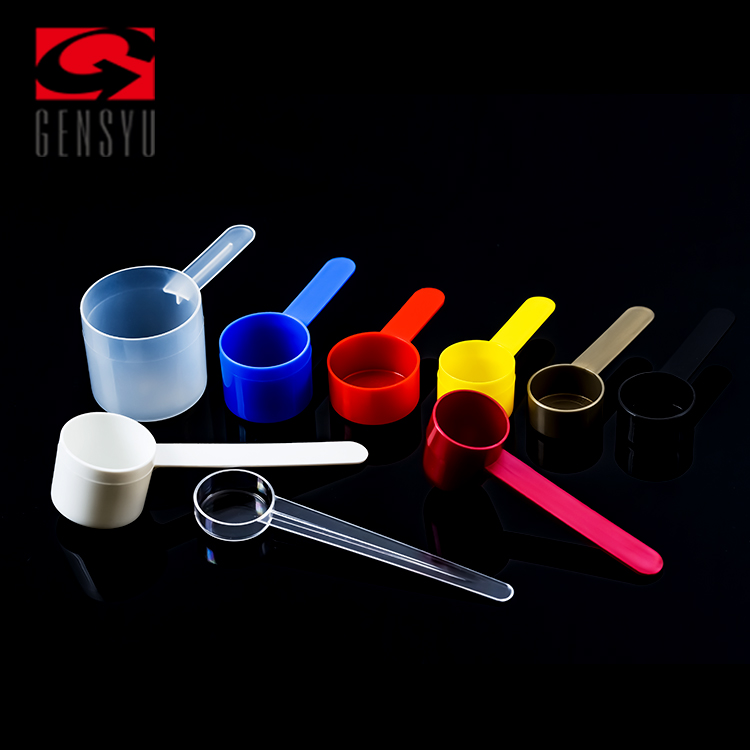 China Supplier Gensyu PP Clear Plastic Scoop 15G For Powder With Ice Cream
