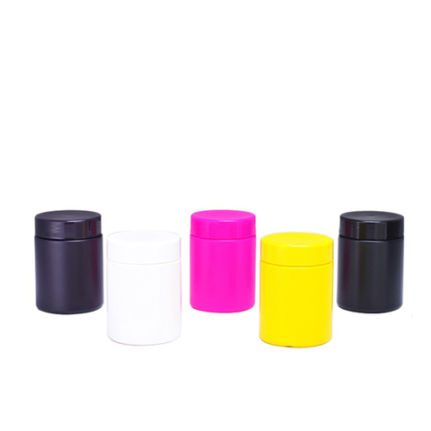 UV Glossy Plain Canister for Pills