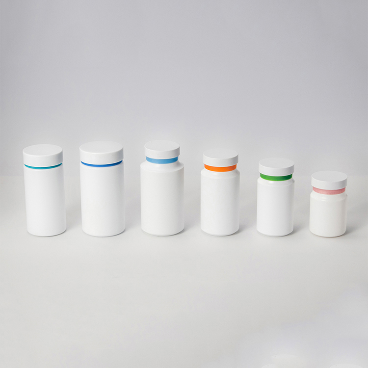 Custom Size Plastic Pill Bottles, HDPE/PET Pharmaceutical Capsule Pill Bottle With Seal, Medicine Vitamin Bottles Containers